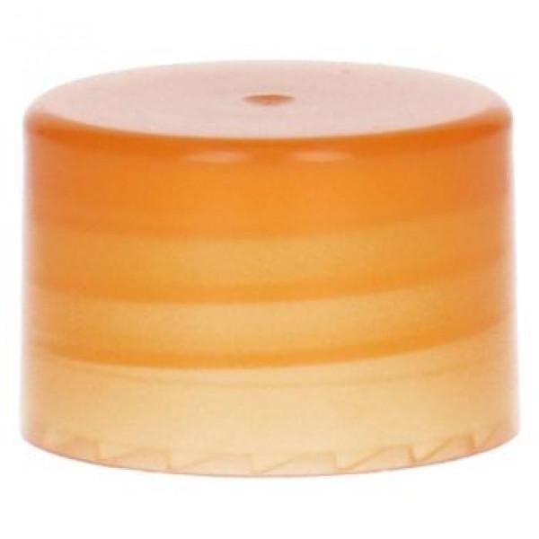 Glatte Schraubverschluss PP Orange 28.410