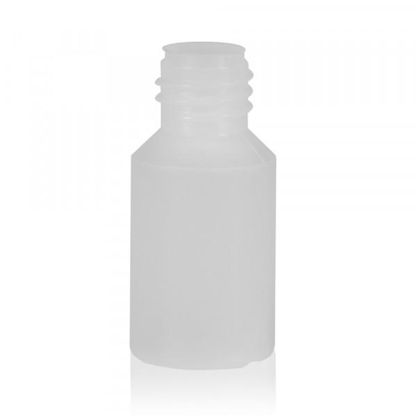 5 ml Flasche Mini Round HDPE-LDPE natur