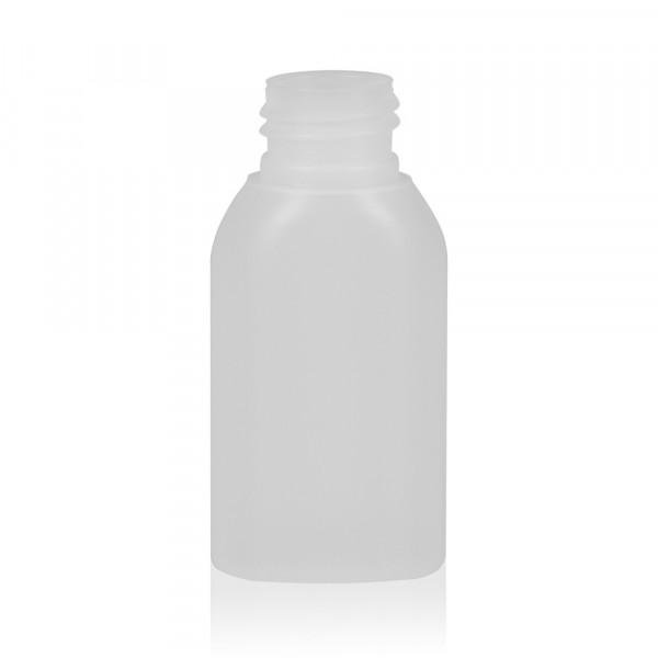 50 ml Flasche Basic Oval HDPE natur 24.410