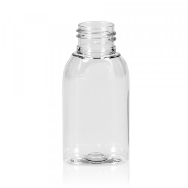 50 ml Flasche Basic Oval PET transparent 24.410