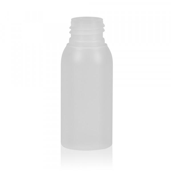 50 ml Flasche Basic Round HDPE natur 24.410