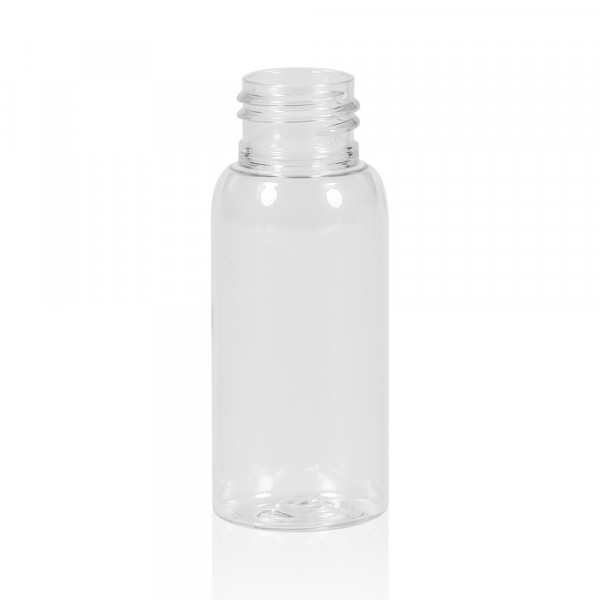 50 ml Flasche Basic Round PET transparent 24.410