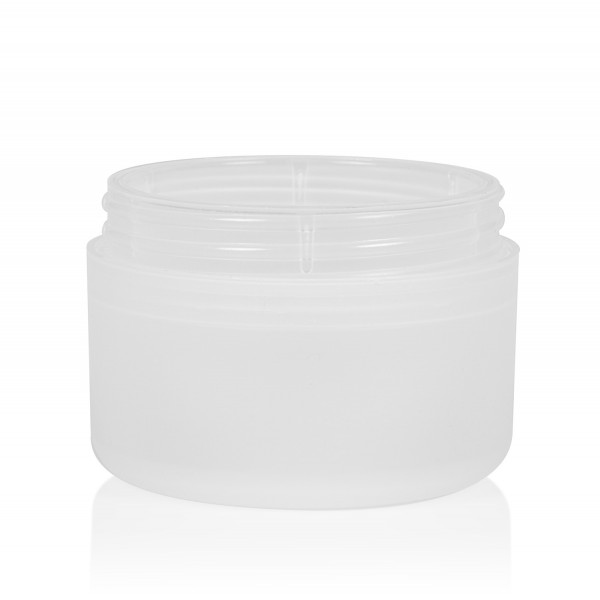50 ml Frosted soft PP natur Doppelwand