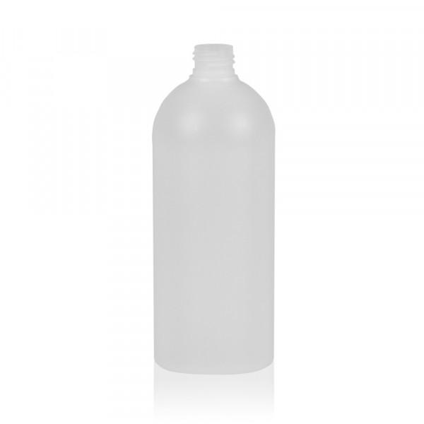 500 ml Flasche Basic Round HDPE natur 24.410