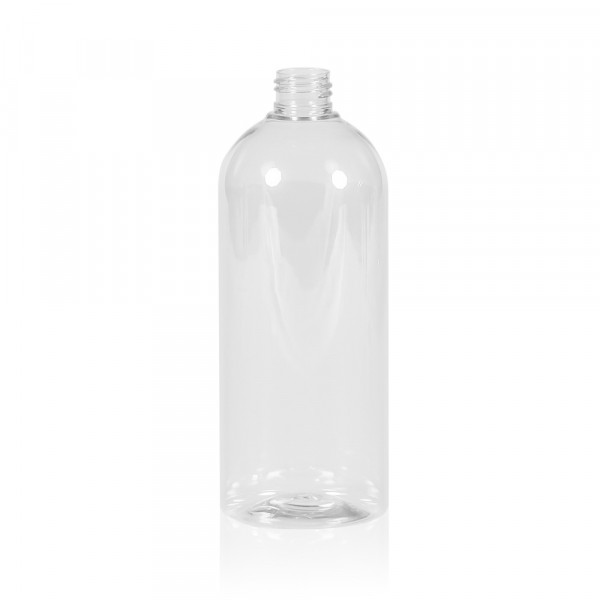 500 ml Flasche Basic Round PET transparent 24.410