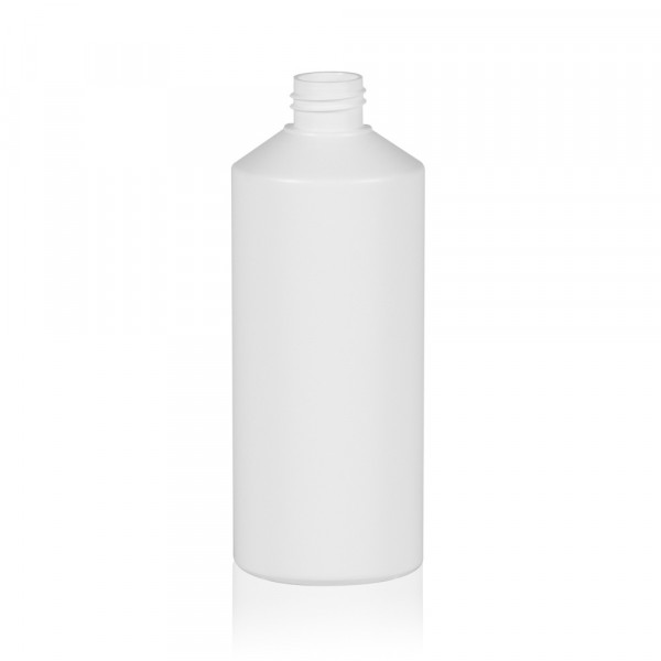 500 ml Flasche Combi HDPE weiß 28.410