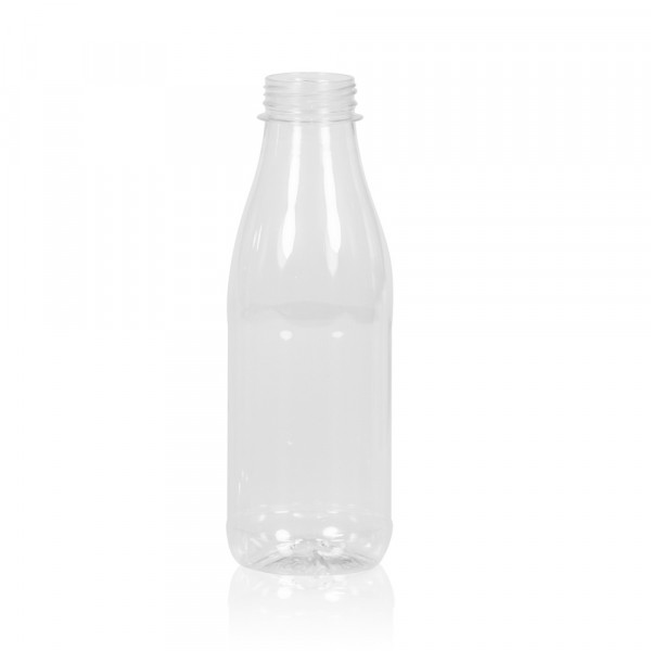 500 ml Saftflasche Juice PET transparent