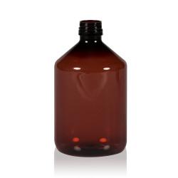 500 ml Flasche Pharma PET braun 28.410