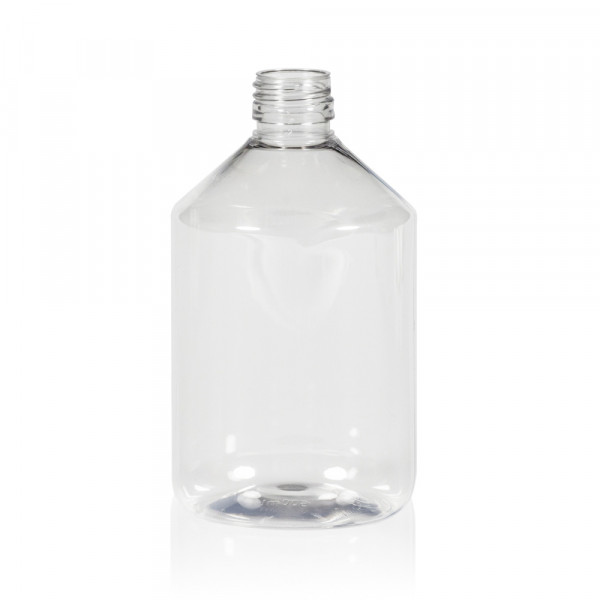 500 ml Flasche Pharma PET transparent 28.410