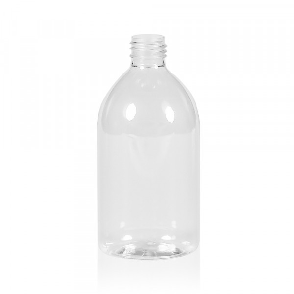 500 ml Flasche Soap PET transparent 28.410