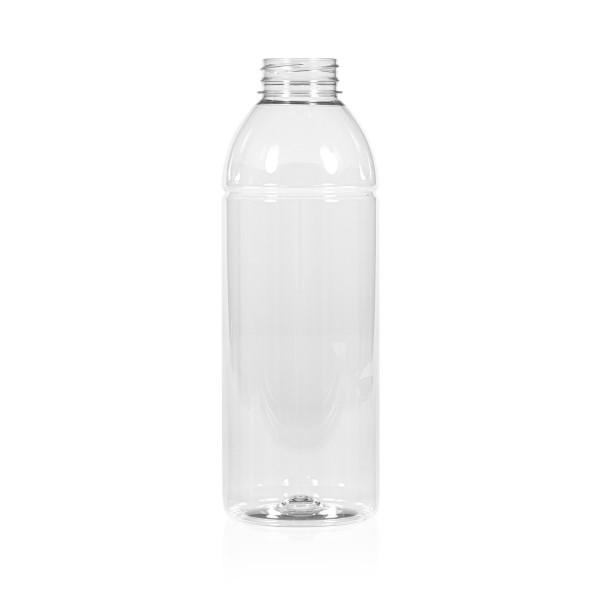 750 ml Saftflasche Smoothie PET transparent