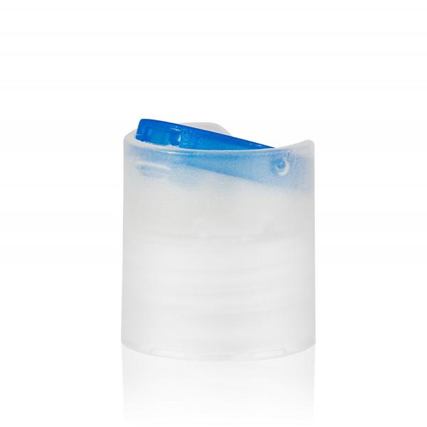 Disc-top PP natur/blau 24.410