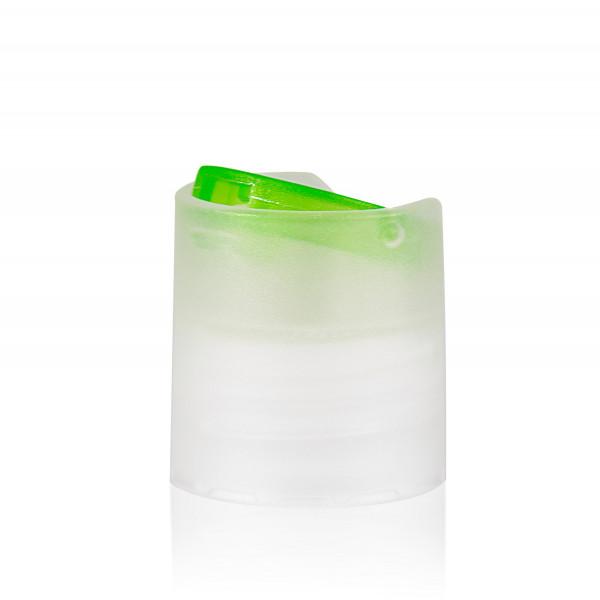Disc-top PP natur/grün 24.410