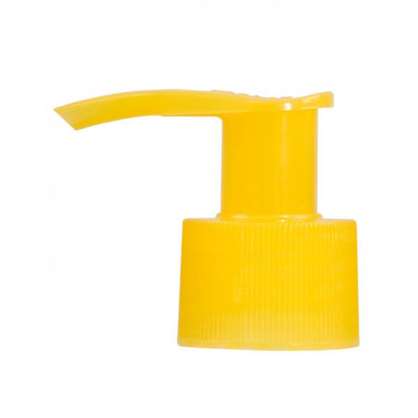 Dispenserpump PP gelb 24.410