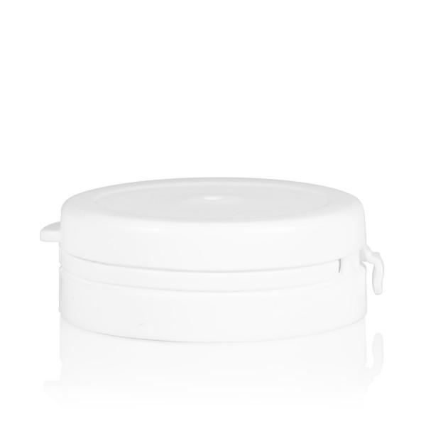 Garantiedeckel Pharma cylinder 43 mm weiß