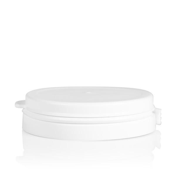Garantiedeckel Pharma cylinder 60 mm weiß