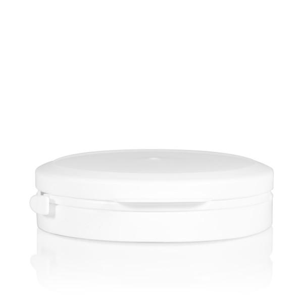 Garantiedeckel Pharma cylinder 95 mm weiß