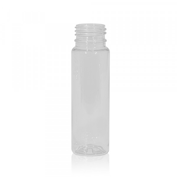 75 ml Saftflasche Juice mini shot PET transparent 28PCO