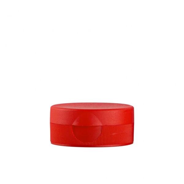 Klappdeckelverschluss + membraan PP rot 38.400