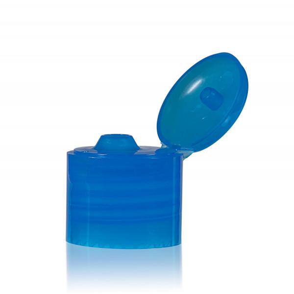 Klappdeckelverschluss PP blau 24.410