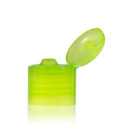 Klappdeckelverschluss PP grün 24.410