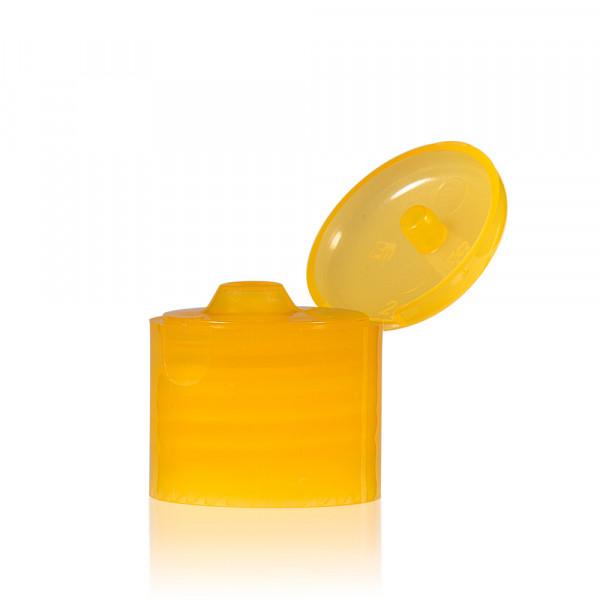 Klappdeckelverschluss PP orange 24.410