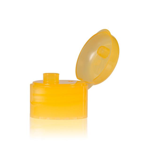 Klappdeckelverschluss PP  orange 28.410