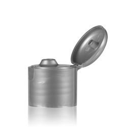 Klappdeckelverschluss PP silber 24.410