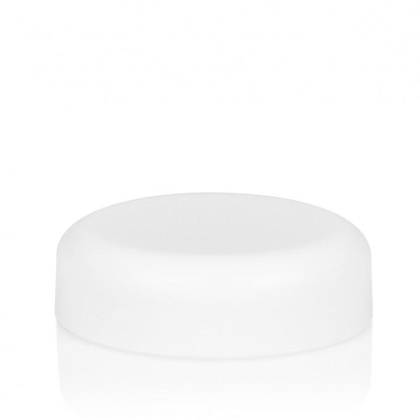 Schraubdeckel Frosted soft 30 ml PP weiß