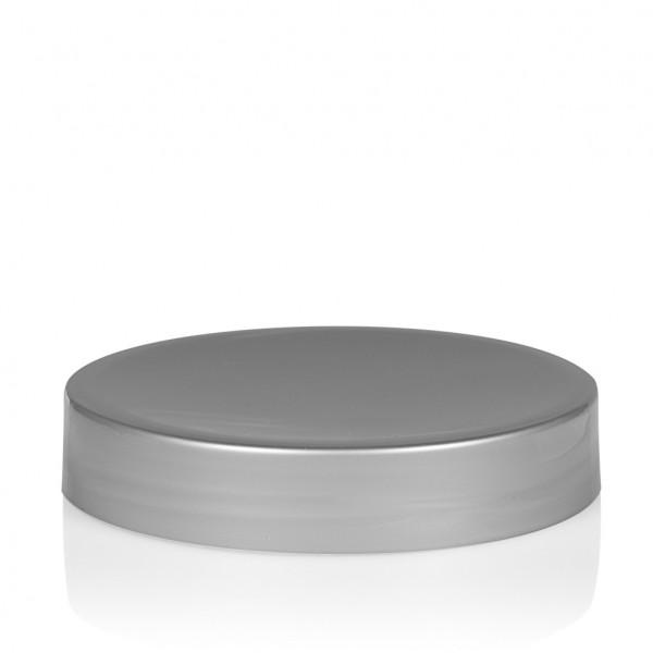 Schraubdeckel Glossy sharp 100 ml PP silber