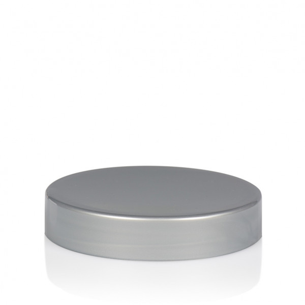 Schraubdeckel Glossy sharp 25 ml PP silber