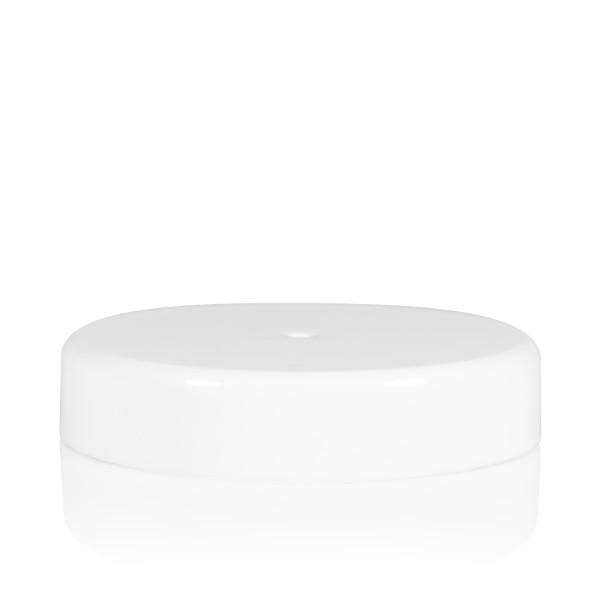 Schraubdeckel transparent cylinder 82 mm weiß
