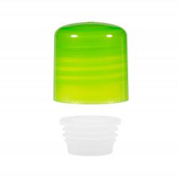 Schraubverschluss + Spritzer PP grün 24.410
