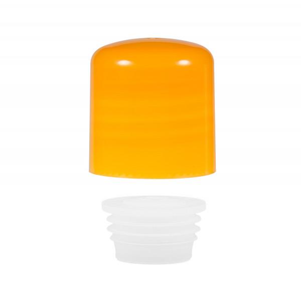 Schraubverschluss + Spritzer PP orange 24.410