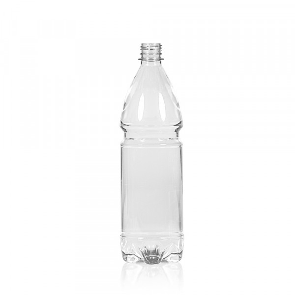 1000 ml Flasche Water PET transparent 28PCO