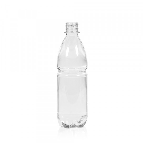500 ml Flasche Water PET transparent 28PCO