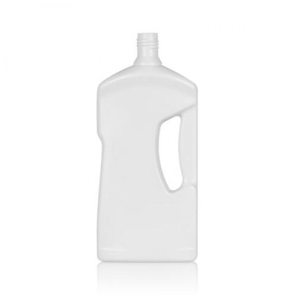 1000 ml Flasche Cleaner HDPE weiß DIN 28